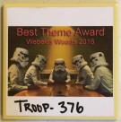 Troop 376 - Best Theme Award
